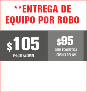 Entrega de equipo por robo precio 100 pesos y aplica para equipos M31, M32, M510, M211 Y HS8202......