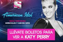 Llévate boletos para ver a Katy Perry