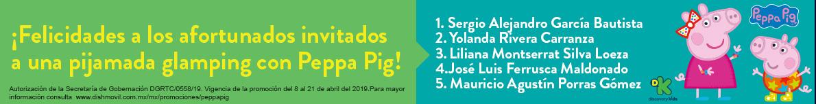 Ganadores Pepa Pig